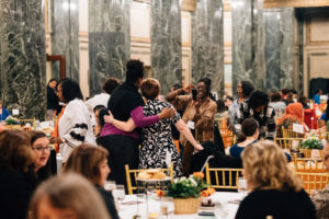 Image: Early childhood professionals celebrate the work of early childhood at the 2019 Trying Together Annual Celebration Dinner.